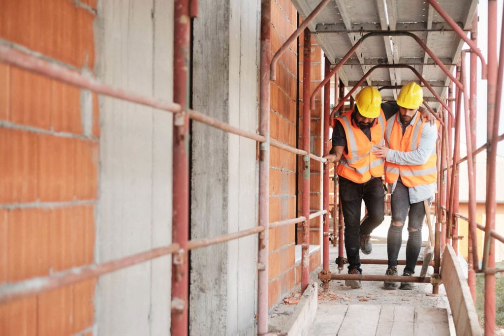 What Type of Injuries Commonly Occur at Construction Worksites?